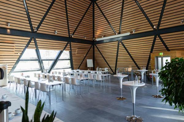 Kubus - Neue Eventlocation: Dänischer Expo-Pavillon auf dem Messegelände