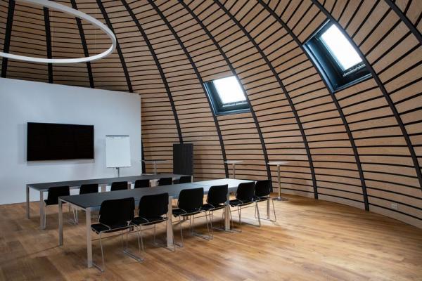 Kuppel - Neue Eventlocation: Dänischer Expo-Pavillon auf dem Messegelände